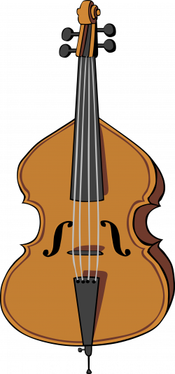 Upright Bass Clipart