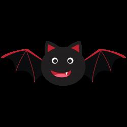 Bat Clipart For My 15month Old Alfie I | Love bats! | Pinterest ...