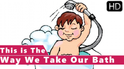 This is the Way We Take Our Bath   Animation Nursery Rhymes for Kids ...