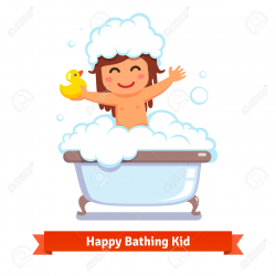 28+ Collection of Take A Bath Everyday Clipart   High quality, free ...