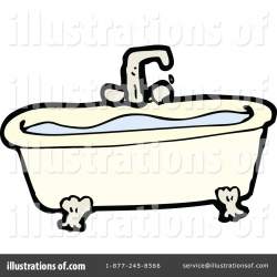 Bath Tub Clipart #1243000 - Illustration by lineartestpilot