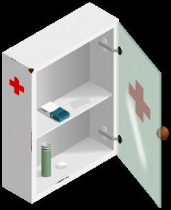 Bathroom Cabinet Clipart