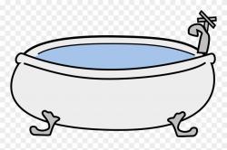 Bathtub Bathroom Hot Tub Download Sticker - Bath Tub Clipart ...