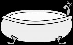Clipart - Bathtub