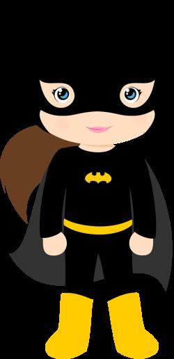 Characters of Batman Kids Version Clip Art. | card | Pinterest ...