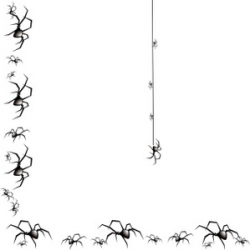 Halloween border spider web borders clipart 2 - Clipartix