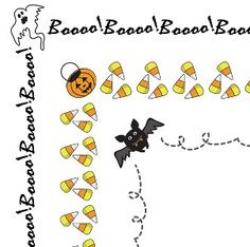 Halloween border pumpkin clip art free borders clipartfest - Clipartix