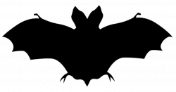 Bats Flying Silhouette at GetDrawings.com | Free for personal use ...