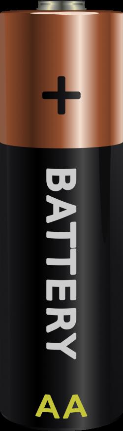 Clipart - battery AA, elementas AA
