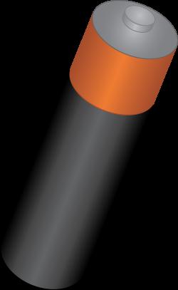 Single AA Battery - Free Clip Art