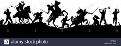 Battle Clipart Medieval Army#3057784