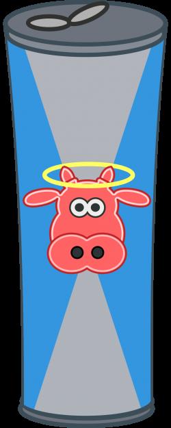 Clipart - Simple Cartoon Energy Drink Can