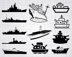 Battleship SVG Bundle, Battleship SVG, Battleship Clipart, Cut Files For  Silhouette, Files for Cricut, Vector, Navy Svg, Dxf, Png, Design