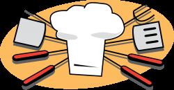 OnlineLabels Clip Art - Bbq Tools