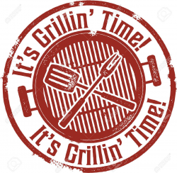 It S Grilling BBQ Time Royalty Free Cliparts, Vectors, And Stock ...