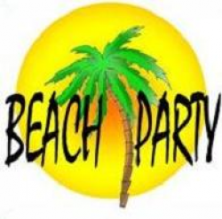 Free Beach Party Clipart