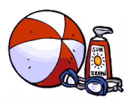 Beach Clipart - Free Graphics of Summer Fun