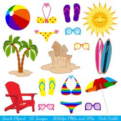 beach themed clip art 3ea230068d126d3bc48644220761de1d beach clipart ...