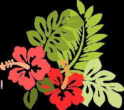 Beach Flowers Clipart