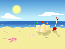 Awesome Clipart Beach Gallery - Digital Clipart Collection