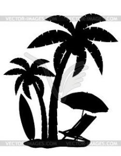 beach silhouette - Google Search   Beach theme stencils   Pinterest ...