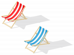 Beach Chairs Transparent PNG Clip Art Image | Gallery Yopriceville ...