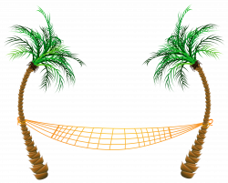 Transparent Palm Beach Hammock PNG Clipart | Gallery Yopriceville ...