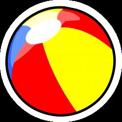 Beach Ball pin | Club Penguin Wiki | FANDOM powered by Wikia
