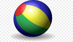 Beach Ball clipart - Ball, Yellow, Product, transparent clip art