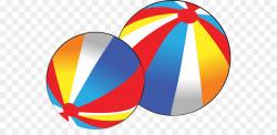 Beach ball Free content Clip art - Beach Balls Clipart png download ...