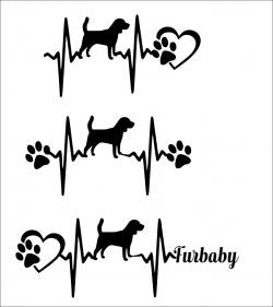 Beagle svg file, svg bundle, dog breed svg, paw print svg file, dog ...