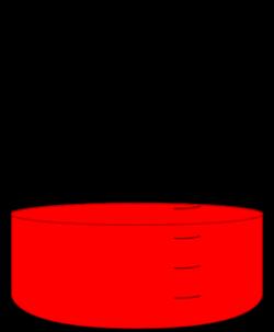 Red Science Beaker Clip Art at Clker.com - vector clip art online ...