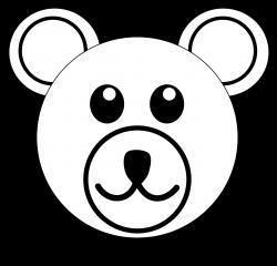 Polar Bear Clipart Black And White | Clipart Panda - Free Clipart ...