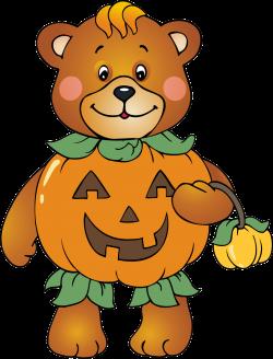 Halloween Bear Clipart