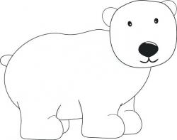 Polar Bear Clipart 1 - 564 X 446 | carwad.net