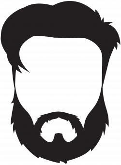 Man Hair Beard Mustache PNG Clip Art Image | Gallery Yopriceville ...