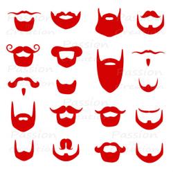Digital red beard clip art, | Clipart Panda - Free Clipart Images