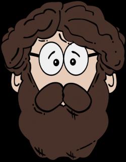 Man With Beard Clip Art at Clker.com - vector clip art online ...