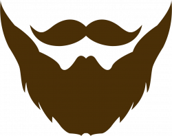 Mustache And Goatee Png Beard Clipart - Clip Art Library