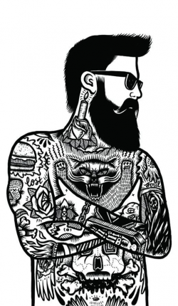 54 best Hair and Beard images on Pinterest | Beards, Facial hair and ...