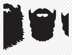 Beard Clipart Beard Silhouette - Png Download (#2481781 ...