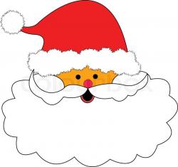 Beard clipart christmas beard - Pencil and in color beard clipart ...