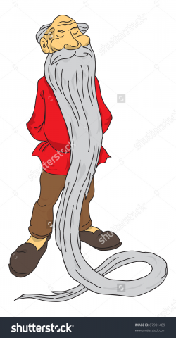 Old Man With Beard Clipart