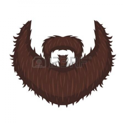 Beard clipart illustration - Pencil and in color beard clipart ...