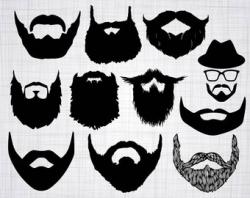 Beard Svg   Etsy Studio