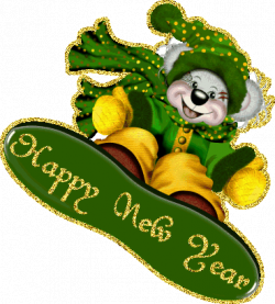 Happy New Year With Bear | Gallery Yopriceville - High-Quality ...