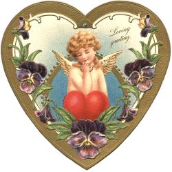 Victorian Valentine Image - The Graphics Fairy