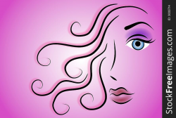 Female Face Beauty Clip Art 3 - Free Stock Images & Photos ...
