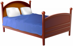 Bed Transparent PNG Clip Art Image | Gallery Yopriceville - High ...