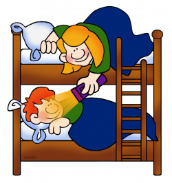 Other Things Clip Art by Phillip Martin, Bunk Beds